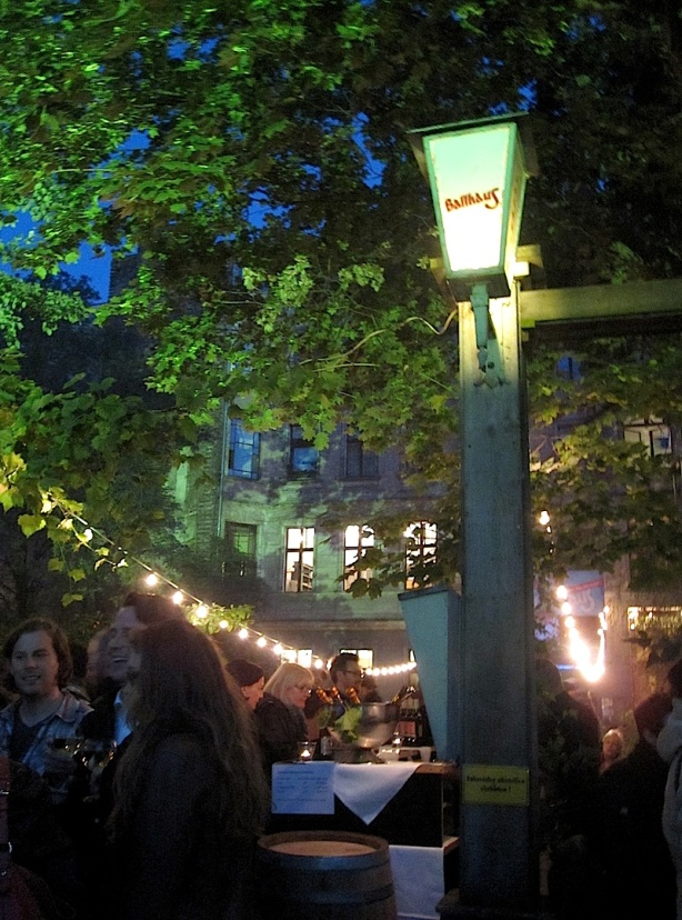 100 years of fun: Old ballroom Clärchens Ballhaus on Auguststrasse at the start of Berlin Art Week, 17 Sept 2013