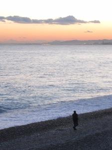 Sunset III Promenade des Anglais, Nice 28 November 2013
