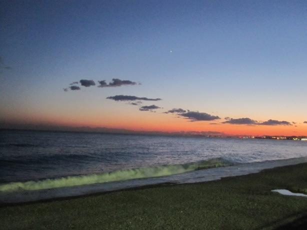 Sunset II Promenade des Anglais, Nice 28 November 2013