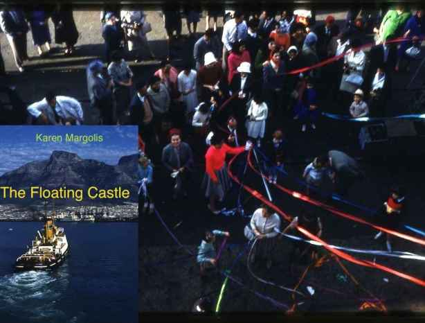 THE FLOATING CASTLE: Leaving Cape Town on the Pretoria Castle, 1961
