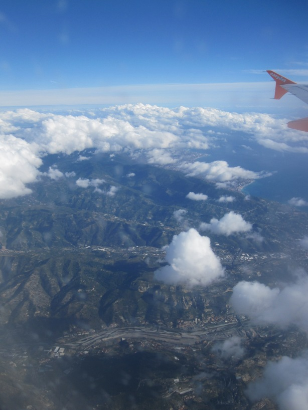 Descending to Nice, November 2013