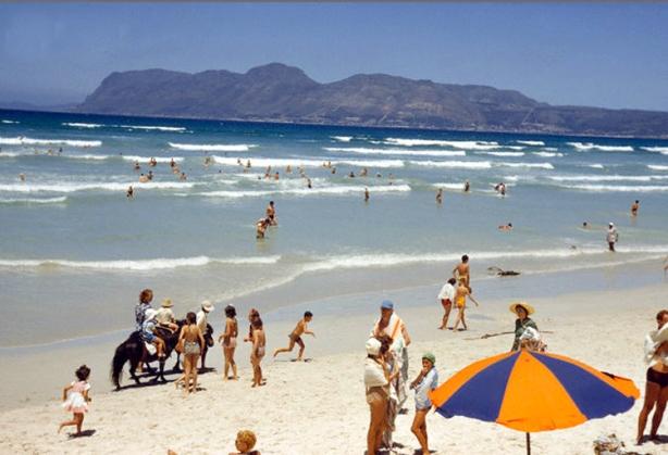 Muizenberg beach, Cape Town 1950s