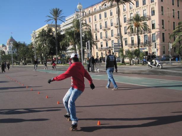 Promenade des Anglais, Nice, December 2013