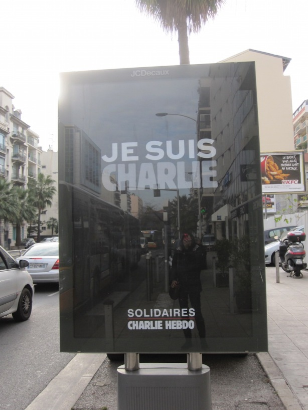Jesuischarlie street sign 13Jan15