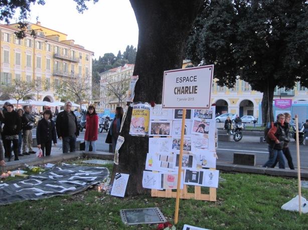 Espace Charlie, Place Garibaldi, Nice 10 January 2015