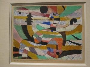 Paul Klee:  Erwachende / Awakening, 1929