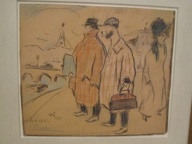 Pablo Picasso: Picasso arriving in Paris, 1901