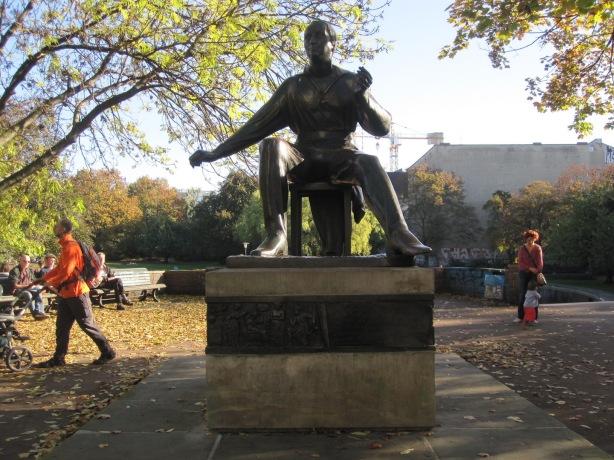 Heinrich Heine memorial in central Berlin