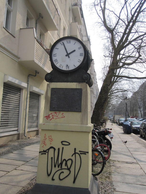 Photo Clock PrenzlB © Margolis 27Mar15