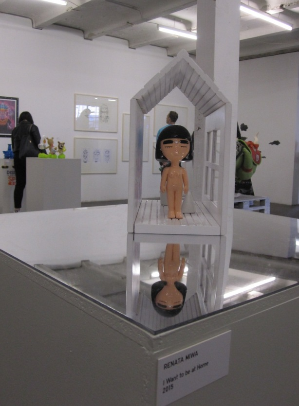 What was that about finding a place to be? — Renata Miwa's work is titled,