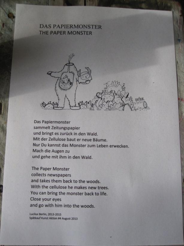 Carolina Cruz / Paper Monster
