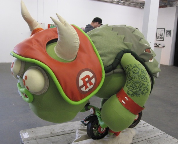 Ugly & lovable: Christian Michel's monster shows off its best side.