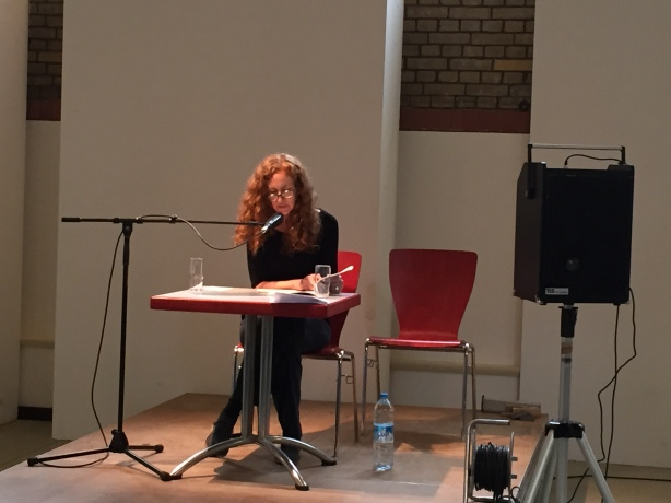 Donna Stonecipher reading from