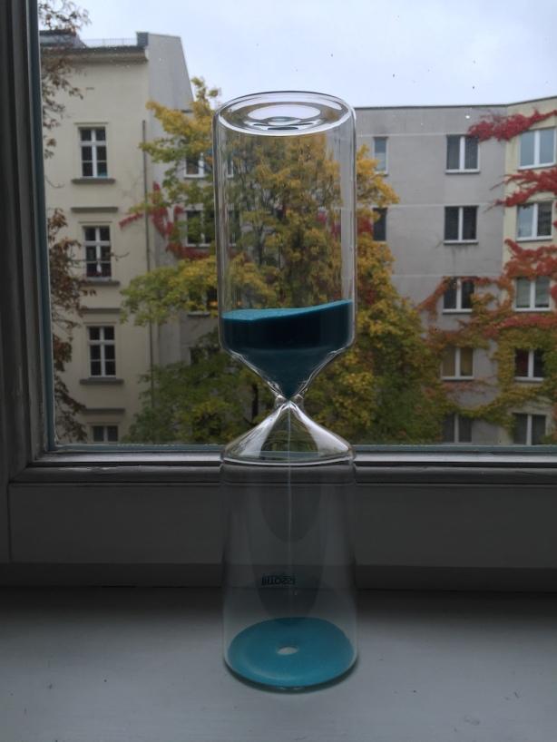 Half-hour glass 19Oct2015