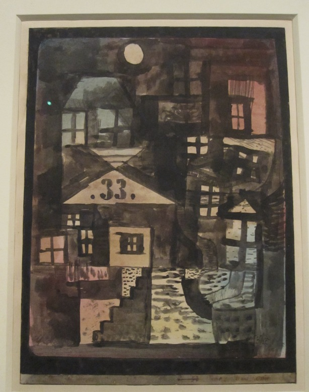 Paul Klee, In the old quarter numero 33, 1923