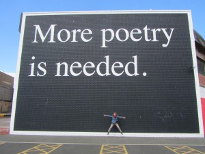 ore poetry sign
