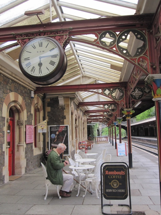 Brexit Malvern station